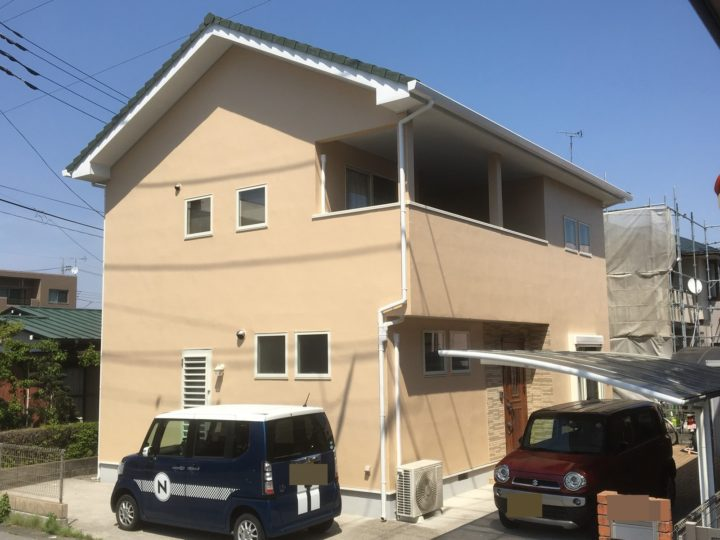 栃木県宇都宮市A様邸 外壁塗装工事
