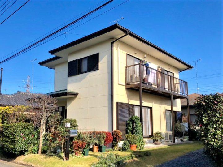 栃木県河内郡 K様邸 屋根外壁塗装工事