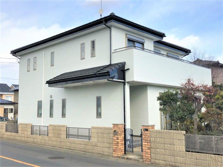 栃木県宇都宮市 W様邸 外壁塗装工事