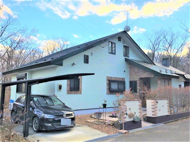 栃木県那須町 I様邸屋根外壁塗装工事