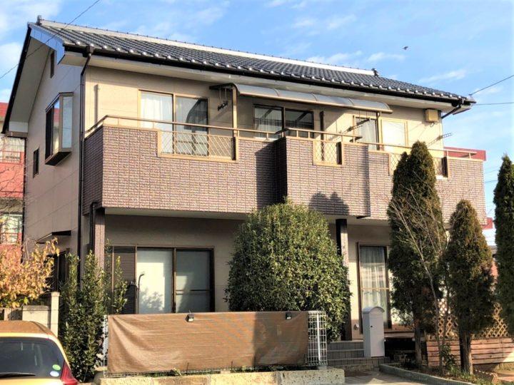 栃木県下野市 T様邸 外壁塗装工事