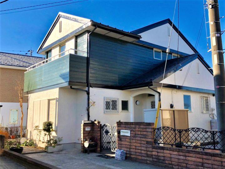 栃木県宇都宮市 M様邸 屋根カバー工事・外壁塗装工事