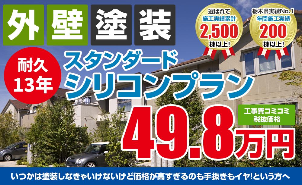 スタンダードシリコン塗装塗装 49.8万円