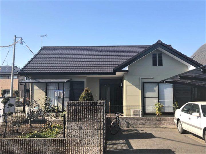 栃木県高根沢町 S様邸 屋根外壁塗装工事