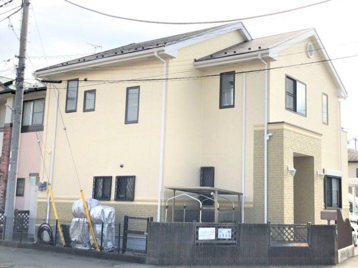 栃木県宇都宮市 U様邸 屋根外壁塗装工事