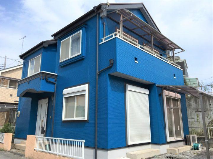 栃木県宇都宮市 K様邸 屋根・外壁塗装工事