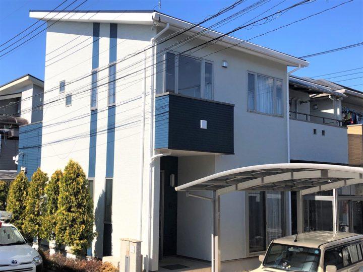 栃木県鹿沼市 F様邸 屋根外壁塗装工事