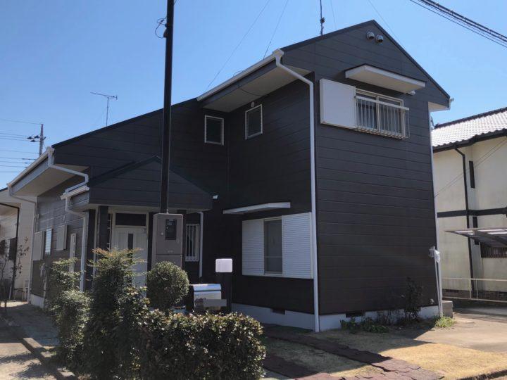 栃木県河内郡上三川町 T様邸 屋根カバー外壁塗装工事
