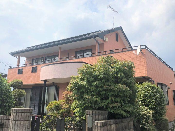 栃木県宇都宮市 E様邸 屋根外壁塗装工事