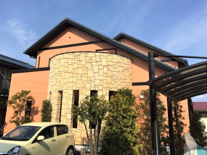 栃木県下都賀郡壬生町 K様邸 屋根外壁塗装工事