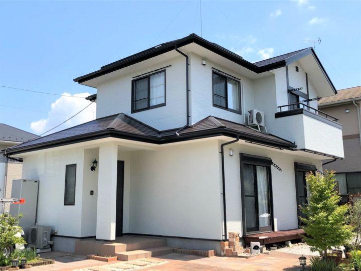 栃木県さくら市 I様邸 屋根外壁塗装工事