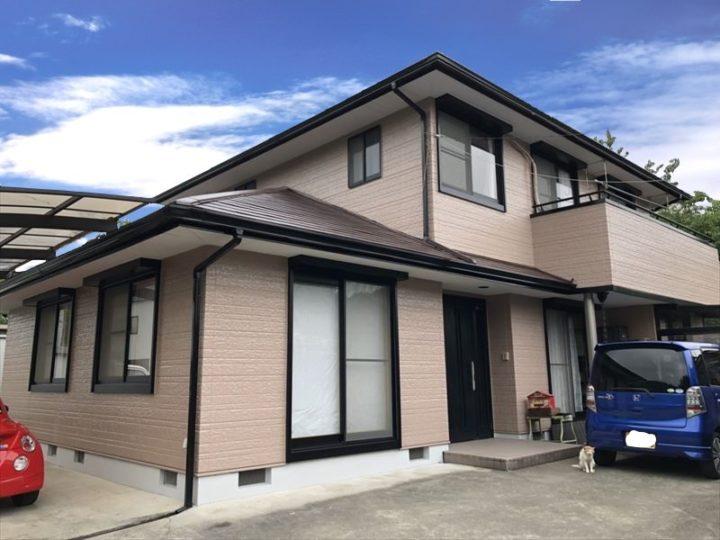 栃木県矢板市 A様邸 屋根外壁塗装工事