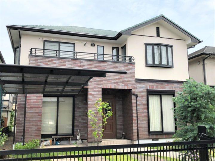 栃木県下都賀郡壬生町 K様邸 屋根外壁塗装