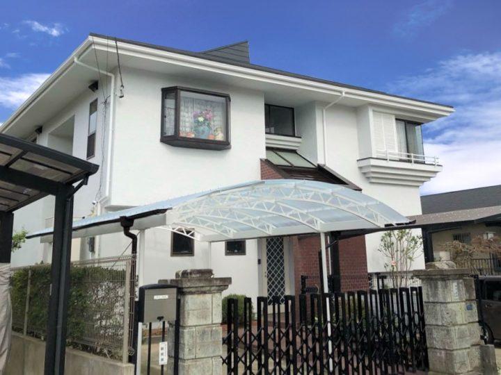 栃木県宇都宮市 Y様邸 外壁塗装工事