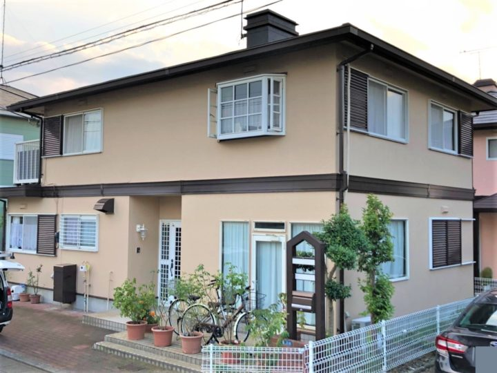 栃木県宇都宮市 T様邸 屋根外壁塗装工事