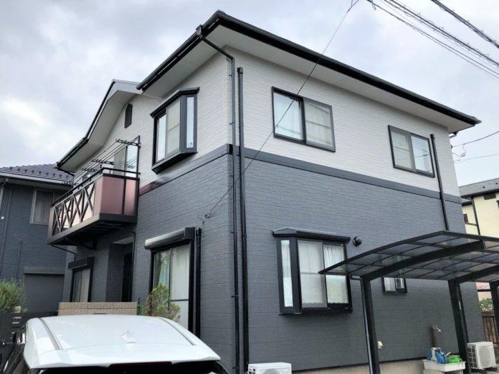 栃木県宇都宮市 O様邸 屋根外壁塗装工事