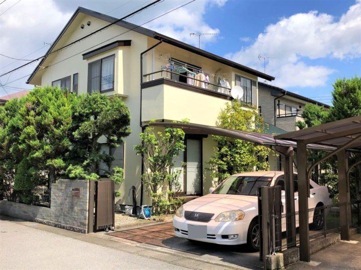 栃木県宇都宮市 A様邸 屋根外壁塗装工事
