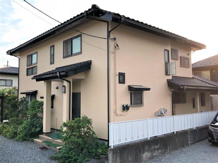 栃木県宇都宮市 K様邸 外壁塗装工事・シーリング工事