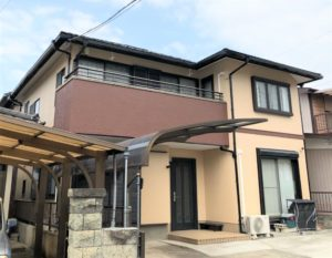 栃木県宇都宮市 K様邸 屋根外壁塗装工事