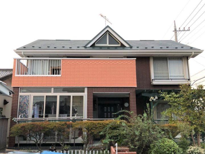 栃木県真岡市 W様邸 屋根カバー・外壁塗装工事