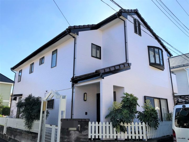 栃木県宇都宮市 W様邸 屋根外壁塗装・シーリング工事