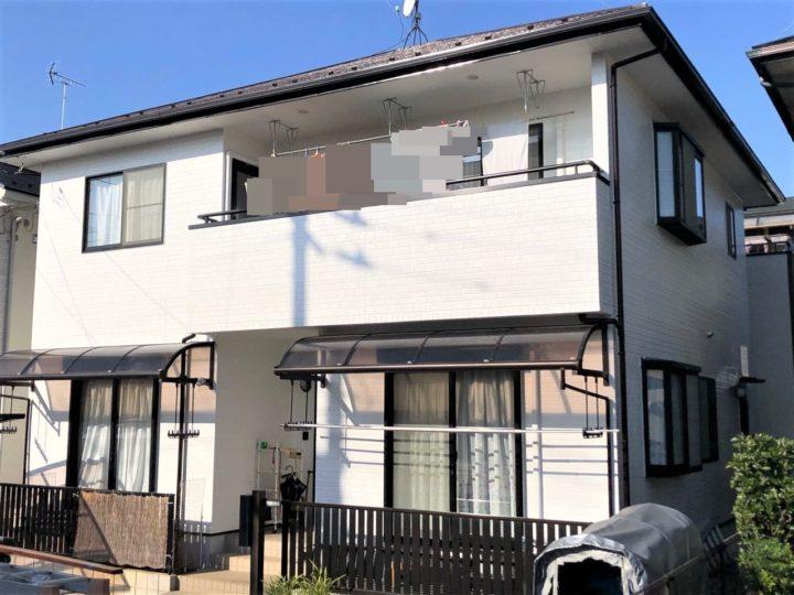 栃木県宇都宮市 Y様邸 屋根外壁塗装工事・シーリング工事
