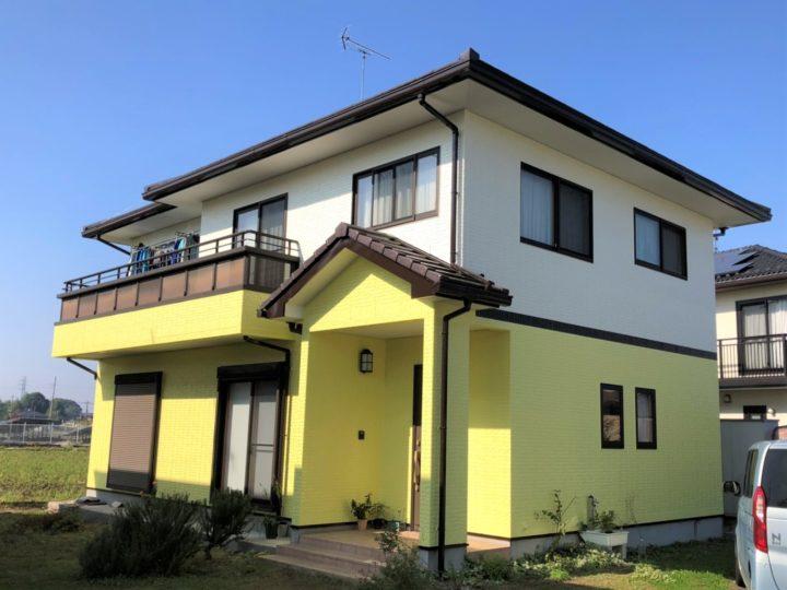 栃木県河内郡 K様邸 外壁塗装・シーリング工事