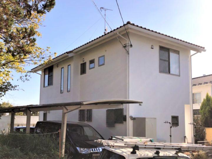 栃木県宇都宮市 H様邸 外壁塗装・シーリング工事
