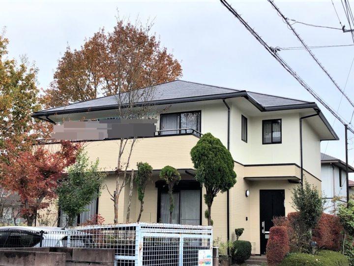 栃木県鹿沼市 S様邸 屋根外壁塗装・シーリング工事