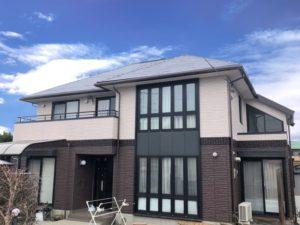 栃木県下野市 N様邸 屋根外壁塗装・シーリング工事