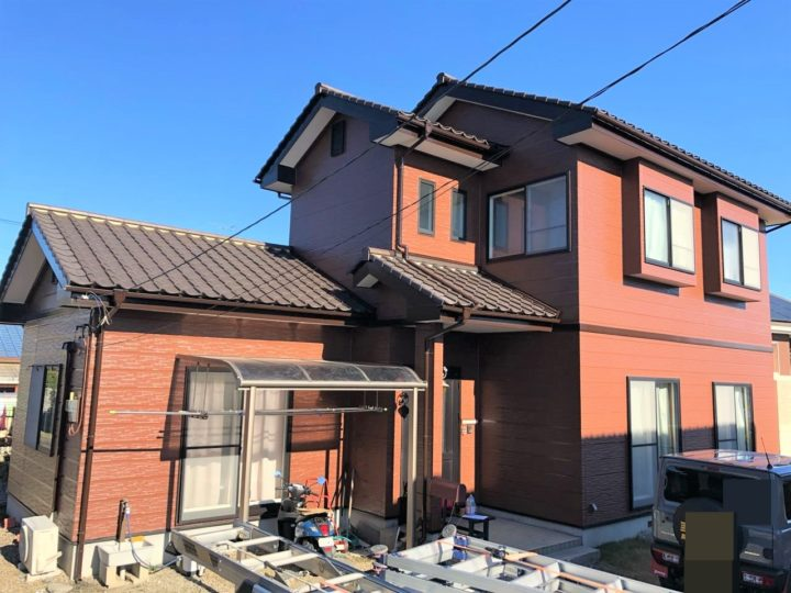 栃木県宇都宮市 N様邸 外壁塗装・シーリング工事