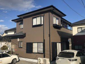 栃木県鹿沼市 T様邸 屋根カバー・外壁塗装工事