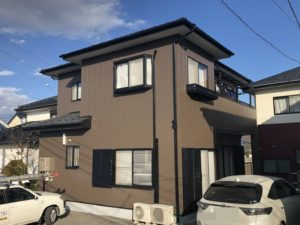 栃木県鹿沼市 T様邸 屋根葺き替え・外壁塗装工事