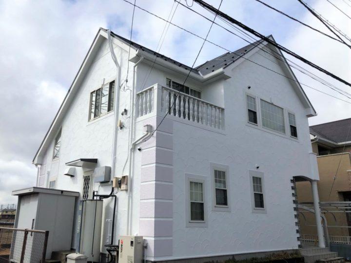 栃木県河内郡 Y様邸 屋根外壁塗装工事