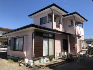 栃木県鹿沼市 T様邸 屋根外壁塗装工事