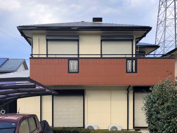 栃木県下野市 N様邸 屋根外壁塗装工事