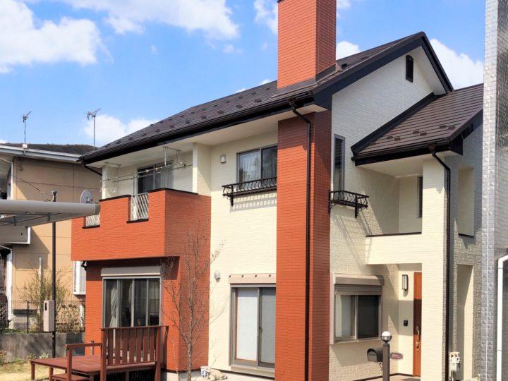 栃木県宇都宮市 S様邸 屋根カバー・外壁塗装工事