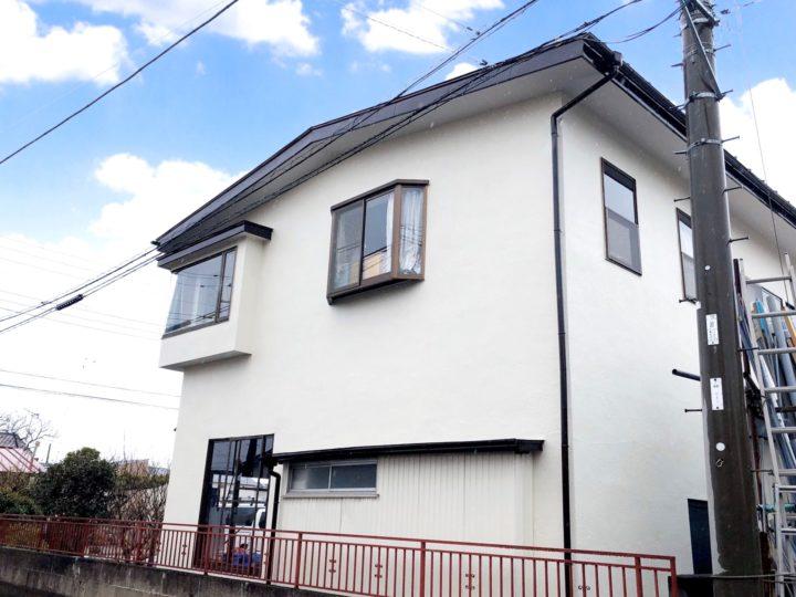 栃木県鹿沼市 N様邸 屋根外壁塗装工事