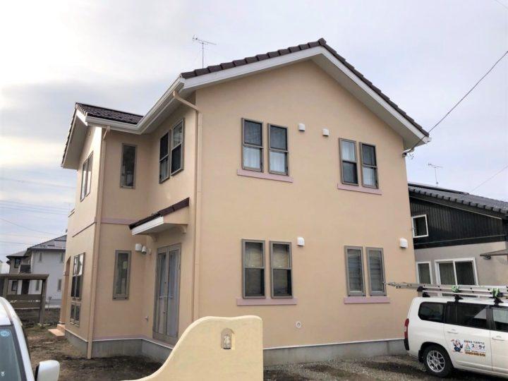 栃木県下野市 I様邸 屋根外壁塗装工事