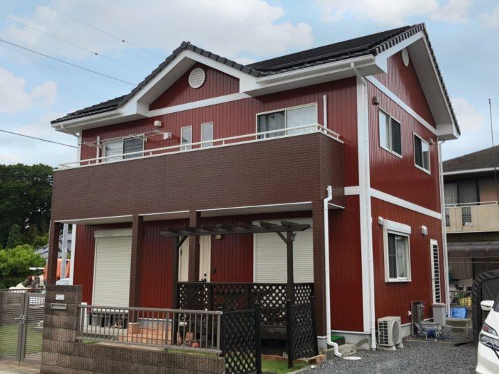 栃木県宇都宮市 F様邸 外壁塗装工事