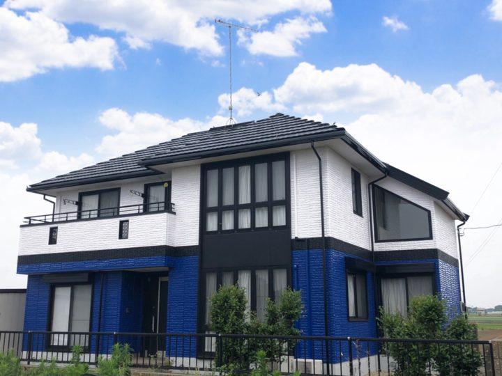 栃木県下野市 O様邸 屋根外壁塗装工事