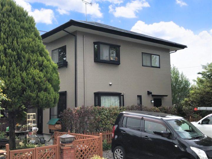 栃木県宇都宮市 N様邸 屋根外壁塗装工事