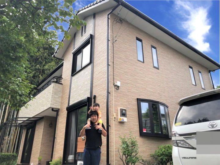 栃木県河内郡 T様邸 外壁塗装工事