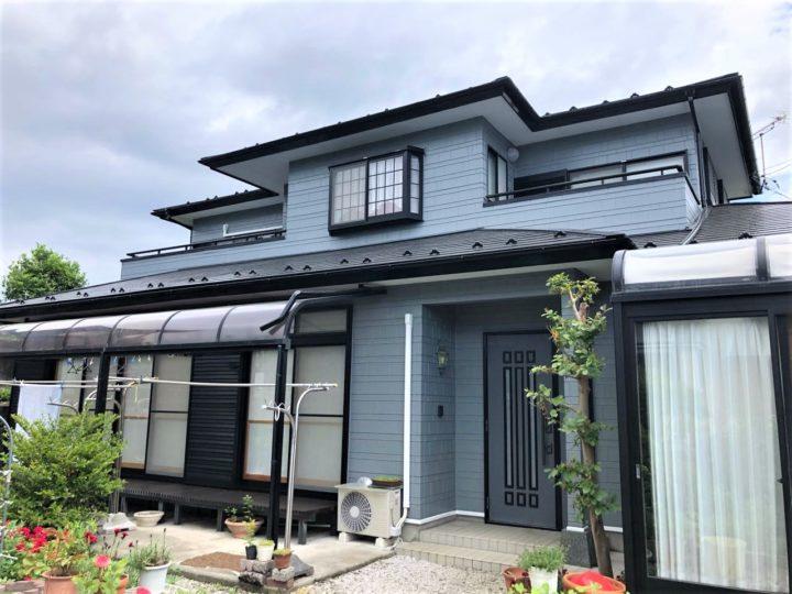 栃木県日光市 F様邸 屋根外壁塗装