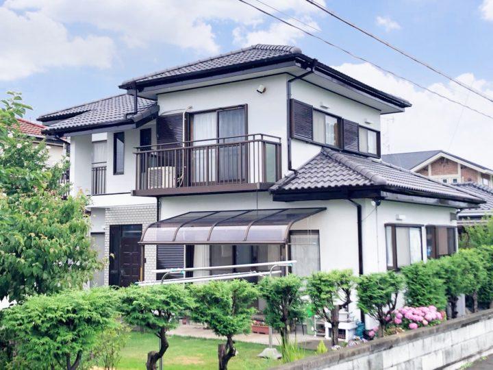 栃木県宇都宮市 Y様邸 屋根外壁塗装工事