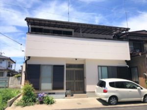 栃木県鹿沼市 S様邸 外壁塗装工事