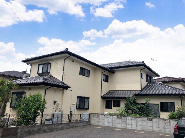 栃木県宇都宮市 H様邸 屋根漆喰・外壁塗装工事