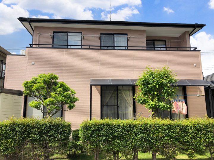 栃木県下野市 Y様邸 屋根外壁塗装工事