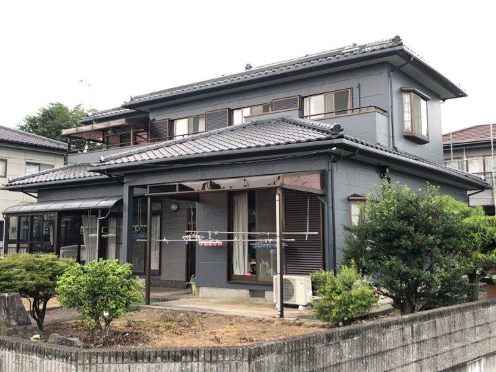 栃木県宇都宮市 S様邸 漆喰工事・外壁塗装工事