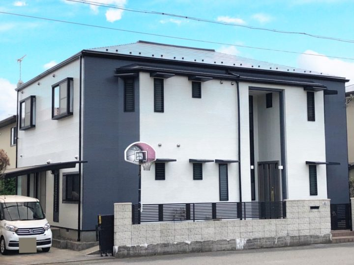 栃木県下都賀郡 H様邸 屋根外壁塗装工事